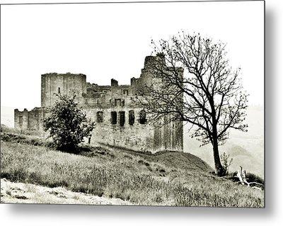 Castle On High Metal Print