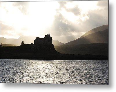 Castle On Scotland's Inner Hebridean Islands Metal Print by Kelsey Horne