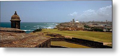 Castle On The Coast, Castillo De San Metal Print by Panoramic Images