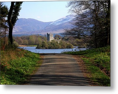 Castle On The Lakes Metal Print