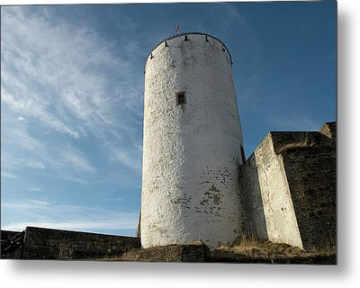 Metal Print featuring the photograph Castle Reifferscheid - Nationalpark Eifel Germany by Urft Valley Art