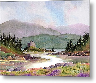 Castle Tioram  Metal Print by Anthony Forster