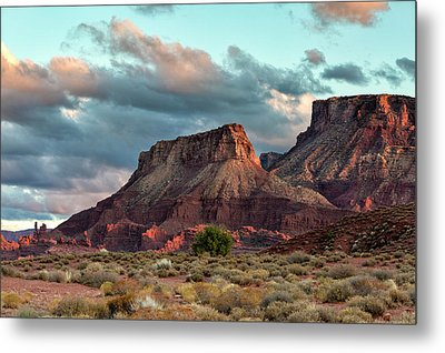 Castle Valley Finale Metal Print