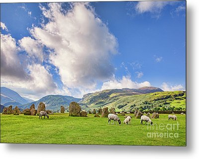 Metal Print featuring the photograph Castlerigg Stone Circle by Colin and Linda McKie