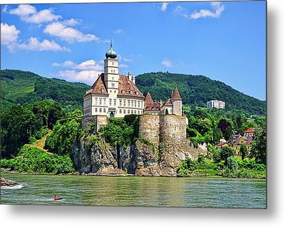 Castles Along The Danube  Metal Print by Lanis Rossi