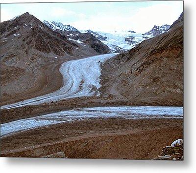 Castner Glacier Metal Print by Adam Owen