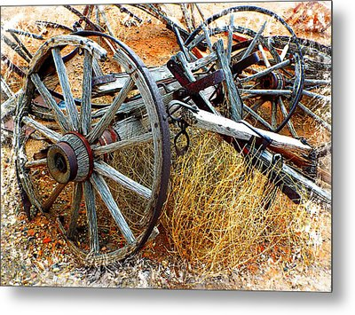 Casualty Vii Metal Print