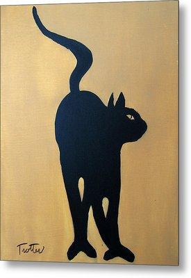 Cat Dance..... Optical Illusion Metal Print by Patrick Trotter