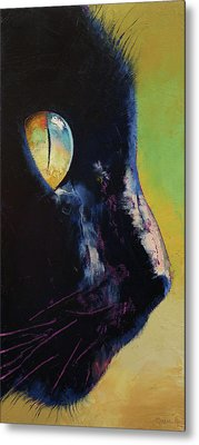 Cat Eye Metal Print by Michael Creese