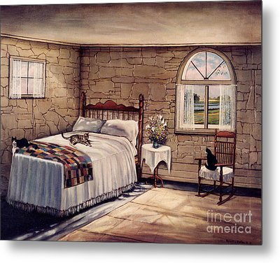 Cat Nap Metal Print by Robert Foster