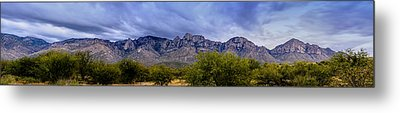 Metal Print featuring the photograph Catalina Mountains P1 by Mark Myhaver