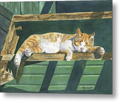 Catatonic Metal Print by Marsha Elliott