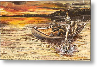 Catch Of The Day Metal Print by Carol Bonick