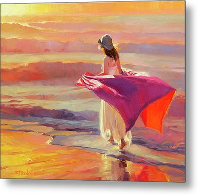 Catching The Breeze Metal Print by Steve Henderson