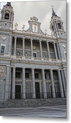 Metal Print featuring the photograph Catedral De La Almudena 2 by Angel Jesus De la Fuente