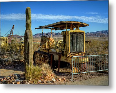 Caterpellar Metal Print by Stephen Campbell