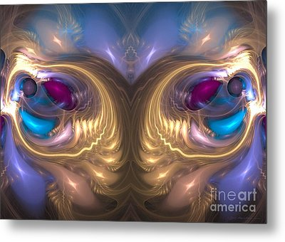 Catharsis - Surrealism Metal Print by Sipo Liimatainen