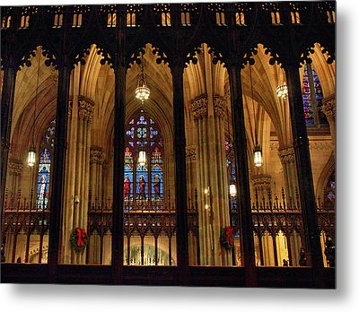Metal Print featuring the photograph Cathedral Arches by Jessica Jenney