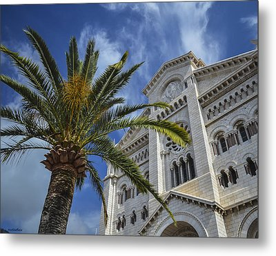 Metal Print featuring the photograph Cathedral At Monte Carlo by Allen Sheffield