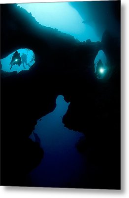 Cathedral At Pescador Island Metal Print by Henry Jager
