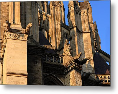 Cathedral Basilica Of Our Lady Of Amiens Metal Print by Aidan Moran