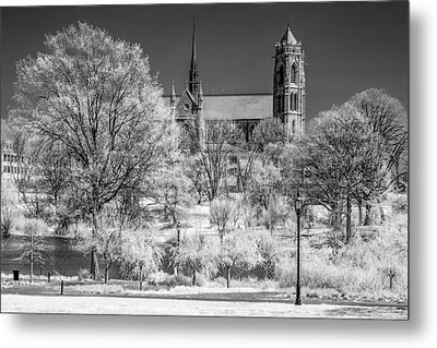 Metal Print featuring the photograph Cathedral Basilica Of The Sacred Heart Ir by Susan Candelario