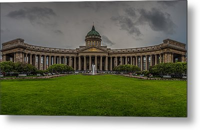 Cathedral Of Our Lady Of Kazan Metal Print by Capt Gerry Hare