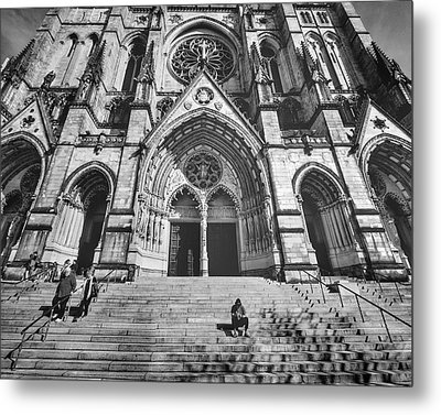 Cathedral Of St. John The Devine New York Metal Print by Cameron Dixon
