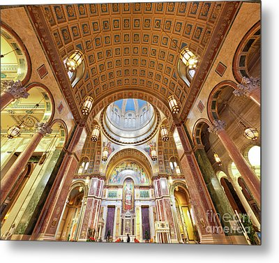 Cathedral Of St. Matthew Viii Metal Print by Irene Abdou