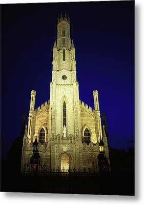 Cathedral Of The Assumption, Carlow, Co Metal Print by The Irish Image Collection