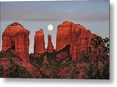 Cathedral Of The Moon Metal Print by Loree Johnson