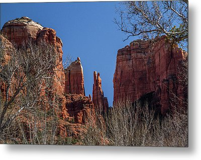 Cathedral Rock View Metal Print
