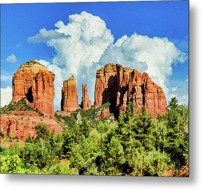 Cathedral Sed M 04-115 Metal Print by Scott McAllister