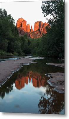 Cathedral Sunset Metal Print by Bill Cantey