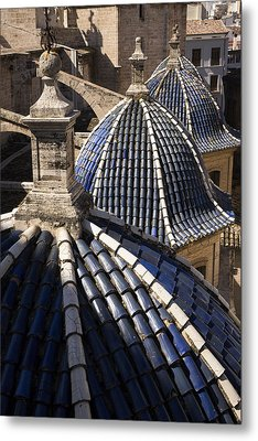 Cathedral Valencia Side Domes Metal Print