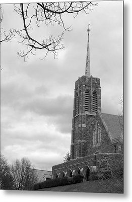Catholic Chapel West Point Metal Print