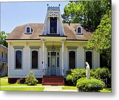 Metal Print featuring the photograph Catholic Rectory by Ken Frischkorn