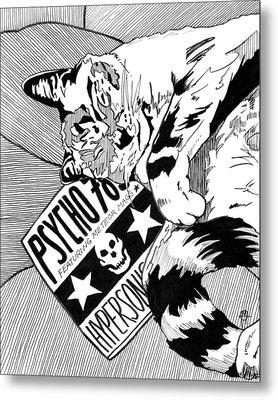 Catnap Metal Print by Matthew Howard