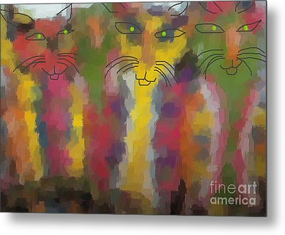 Cats Metal Print by Don Phillips