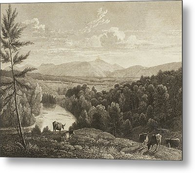 Catskill Mountains Metal Print by Asher Brown Durand