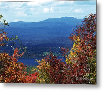 Catskill Mountains Photograph Metal Print