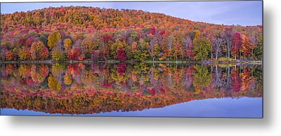 Metal Print featuring the photograph Catskill Panorama 2 by Mark Papke