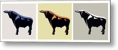 Cattle Baron Metal Print by Slade Roberts