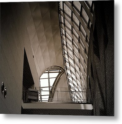 Metal Print featuring the photograph Catwalk by Laura DAddona