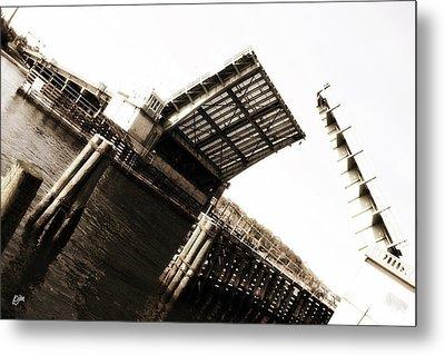 Metal Print featuring the photograph Causeway Bridge Wrightsville Beach by Phil Mancuso