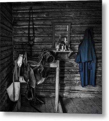 Cavalry Bunkhouse Metal Print by Mountain Dreams