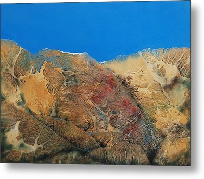 Cave Dweller Metal Print by Shirley McMahon