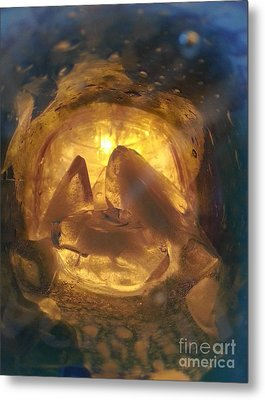 Cavern Light Metal Print