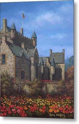 Cawdor Castle In Summertime Metal Print by Sean Conlon
