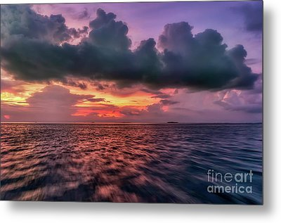 Metal Print featuring the photograph Cebu Straits Sunset by Adrian Evans